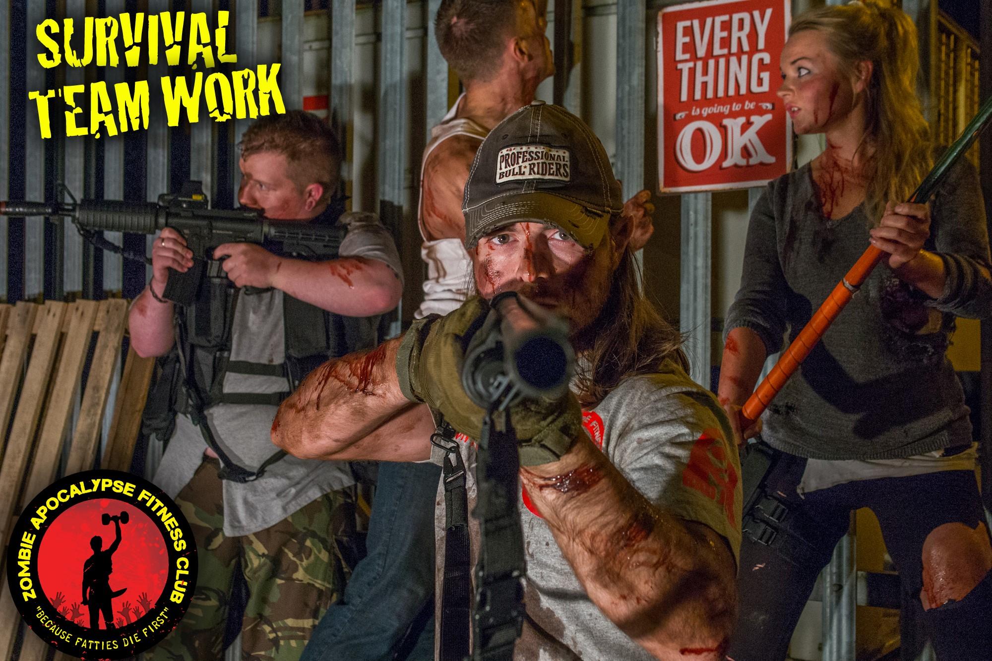 Zombie Apocalypse Fitness Club